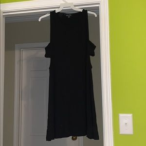 American Eagle Black Dress with Cut Outs